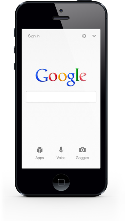 iPhone 5s google