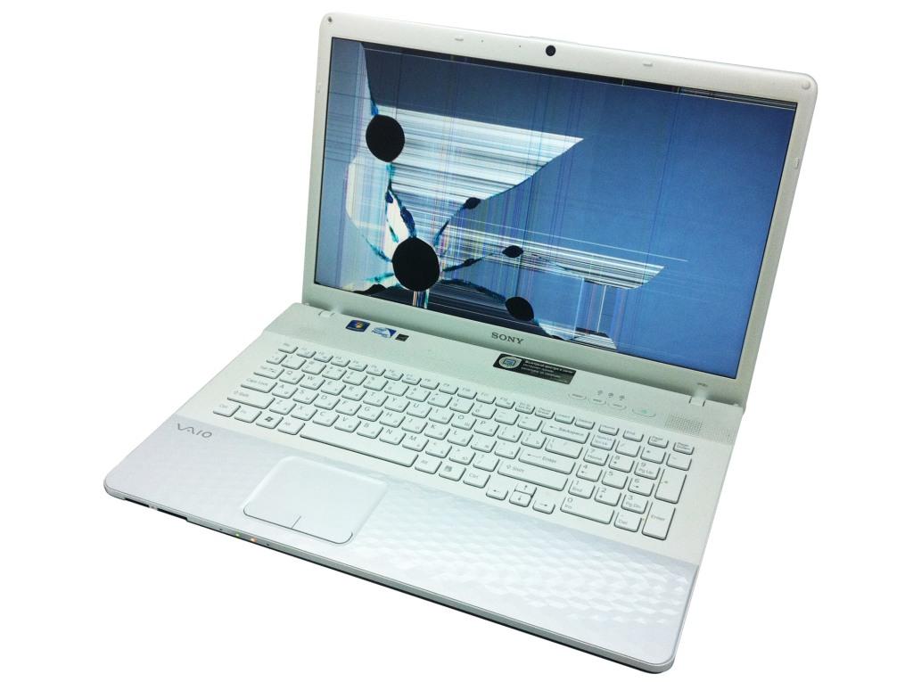 Замена матрицы ноутбука Sony